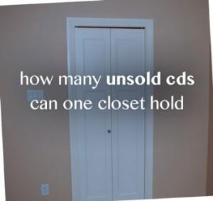 Unsold CDs